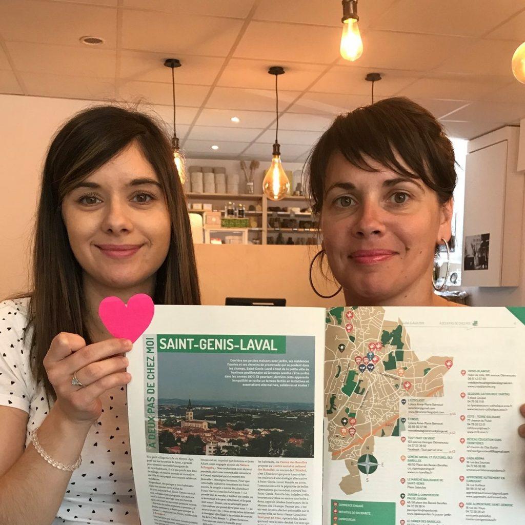 Photo Béatrice et Emi les fondatrices de tout part en vrac