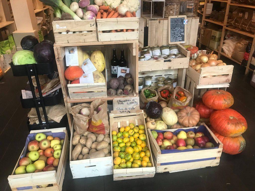 Légumes de saison chez Tout part en vrac magasin bio Saint Genis Laval